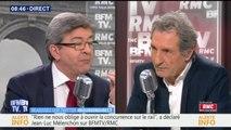 """Jean-Luc Mélenchon: """"La dette de la SNCF a été créée et aggravée par des décisions irresponsables"""""""