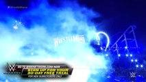The Undertaker makes perhaps his final WrestleMania entrance: WrestleMania 33