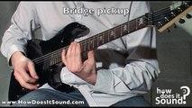 ESP Kirk Hammett KH-2 - Funk - How does it sound ?