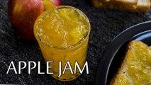 Apple Jam Recipe| How To Make Organic Apple Jam| Homemade Apple Jam Recipe | Boldsky