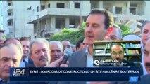 Syrie: soupçon de construction d'un site nucléaire souterrain