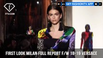 Gigi Hadid Versace Milan Fashion Week Fall/Winter 2018-19 | FashionTV | FTV