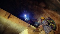 Swiss experts try to save ancient cave paintings