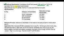 northern railways notification |  3162 vacancy |  no written test | govt job
