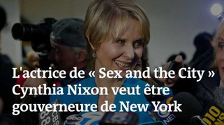 L actrice de « Sex and the City » Cynthia Nixon