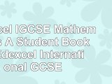 Edexcel IGCSE Mathematics A  Student Book 2  Edexcel International GCSE 23330af8