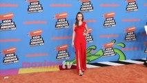 Savannah May 2018 Kids' Choice Awards Orange Carpet