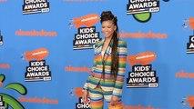 Storm Reid 2018 Kids' Choice Awards Orange Carpet
