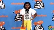 Trinitee Stokes 2018 Kids' Choice Awards Orange Carpet