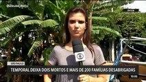 Repórter da Globo News expulsa pessoas ao vivo. 'Sai daqui!'