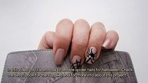 How To Terrible Spider Nails For Halloween - DIY Beauty Tutorial - Guidecentral