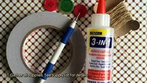How To Make Rosette Embellishments For Crafts - DIY Crafts Tutorial - Guidecentral