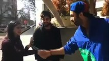 Ranbir Kapoor meeting fans in Bulgaria   Brahmastra    Alia Bhatt