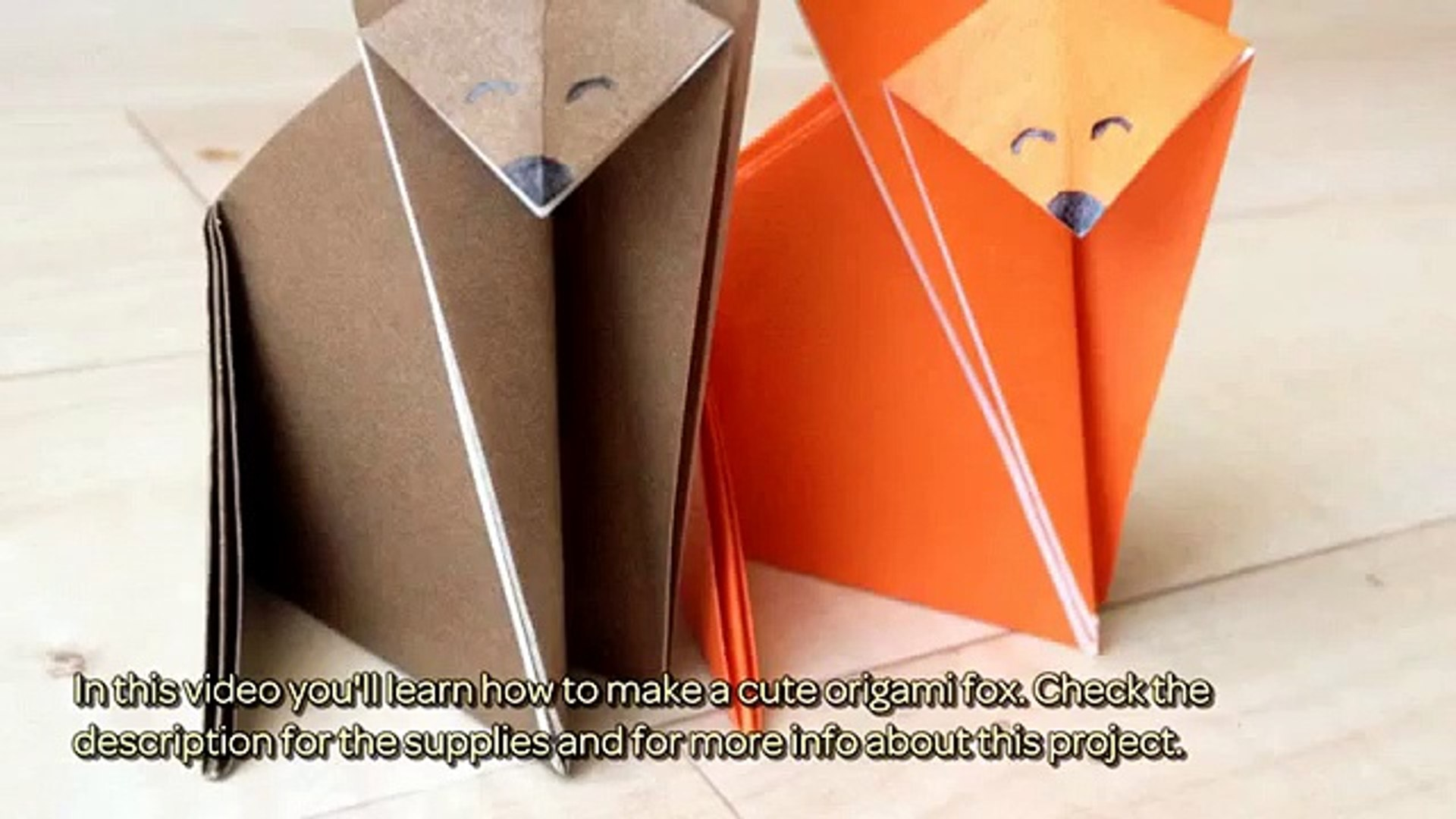 How to Make an Origami Fox : 10 Steps - Instructables | 1080x1920