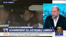 """Dupond-Moretti trouve """"stupéfiant"""" que la garde à vue de Sarkozy ait été interrompue la nuit"""