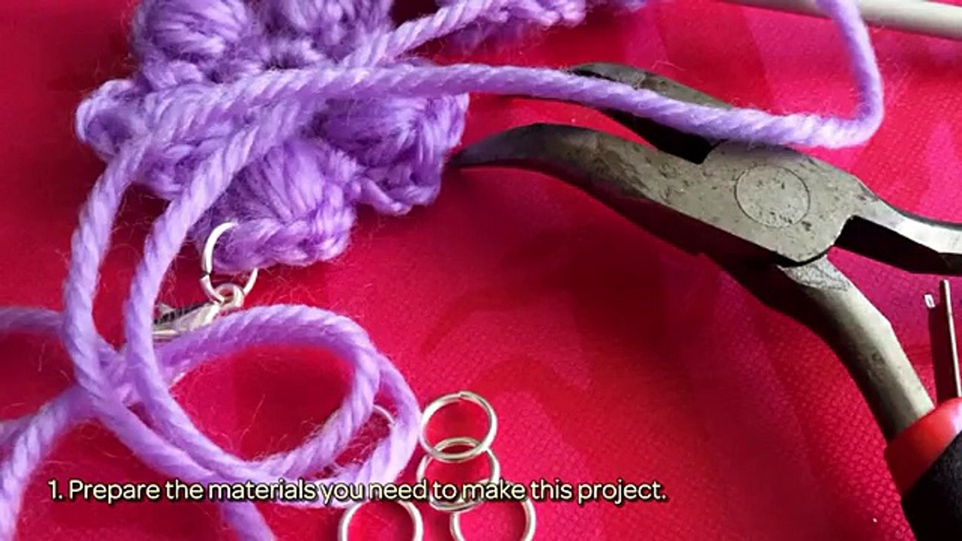 How To How Crochet A Cute Flower Bracelet - DIY Style Tutorial - Guidecentral