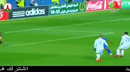 Bounedjah inscrit un jolie but, Algérie 4-1 Tanzanie