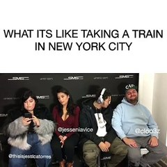 What its Like taking the Train in New York City