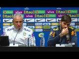Seleção Brasileira: coletiva com Alisson Tite e Cleber Xavier - 22/03/2018