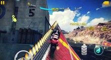 Asphalt 8  Airborne    Moto Bike Race - Suzuki GSX-R750:: Good speed  and  stunt