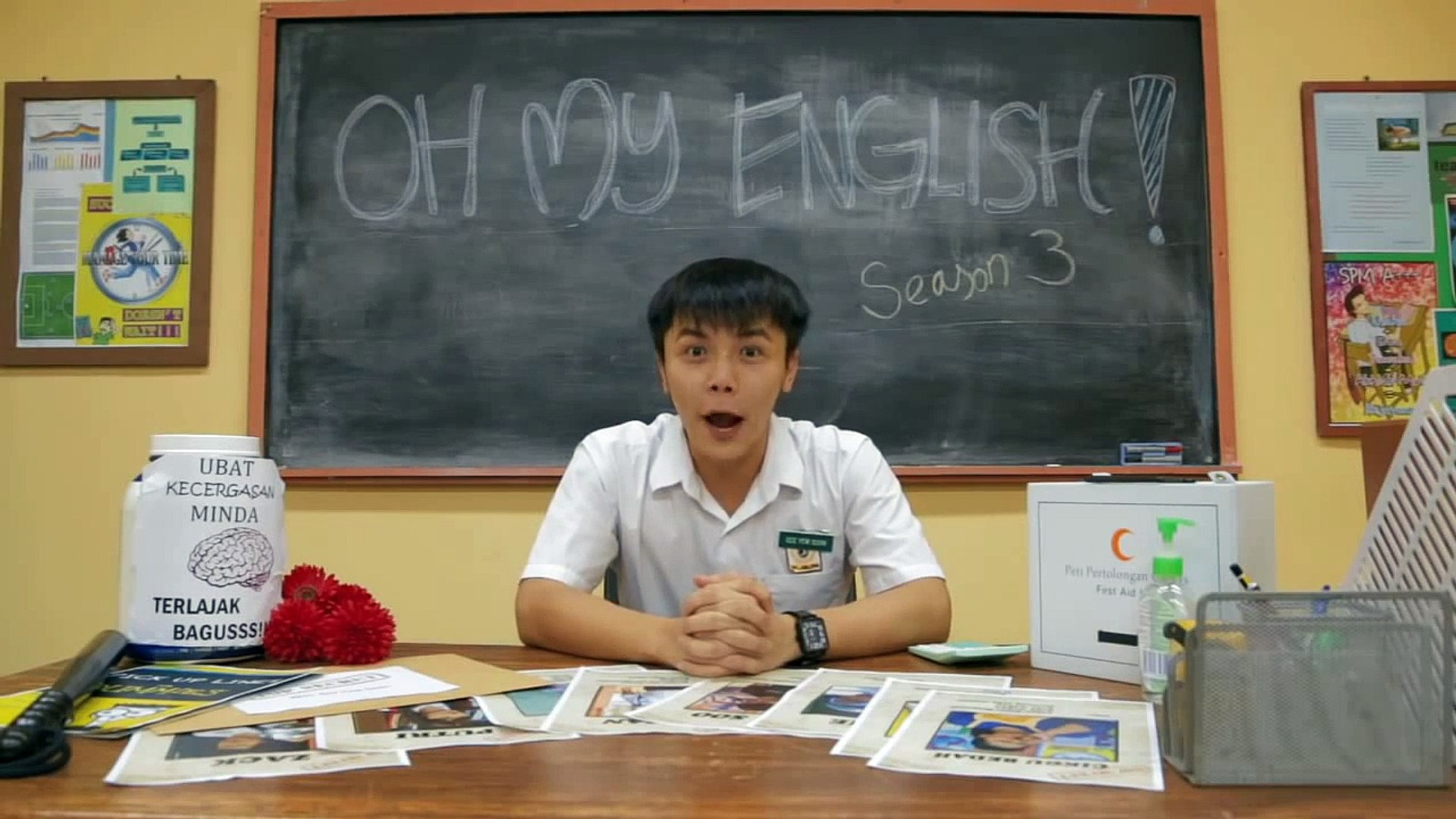 Oh My English is back! - See Yew Soon