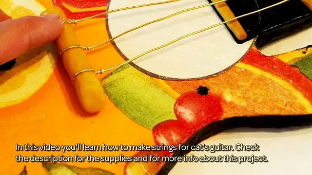 How To Make Strings For Cat's Guitar – DIY Crafts Tutorial – Guidecentral