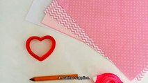 Create a Cute  Heart Valentines Day Card - DIY Crafts - Guidecentral