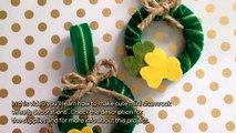 Make Cute Mini Shamrock Wreath Decorations - DIY Home - Guidecentral