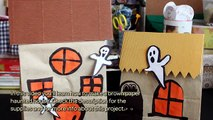 Make a Brown Paper Haunted House - DIY Crafts - Guidecentral