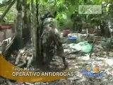 OPERATIVO ANTIDROGAS - TINGO MARÍA