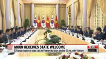 South Korean President Moon Jae-in's state visit has a twofold purpose