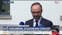 """Edouard Philippe : """"Toutes les informations laissent à penser qu'il s'agirait d'un acte terroriste"""""""