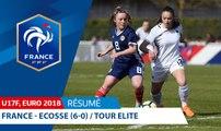 U17 Féminine, Tour Elite Euro 2018 : France - Ecosse (6-0), les buts I FFF 2018