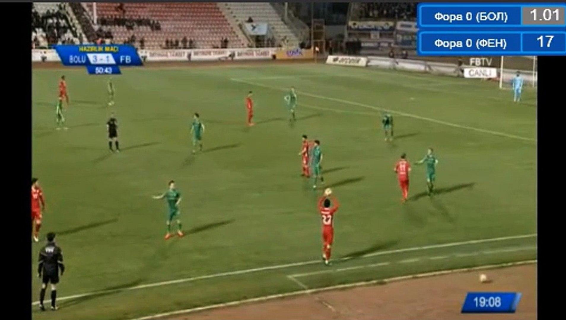 Guido Kocer  Goal HD - Boluspor (Tur) 4-1 Fenerbahce (Tur) 23.03.2018