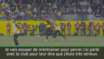 Borussia Dortmund - Bolt : ''Je suis très sérieux à propos du football''