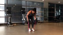Resistance Band Workout: Bent-Over Rows