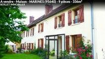 A vendre - Maison - MARINES (95640) - 9 pièces - 336m²