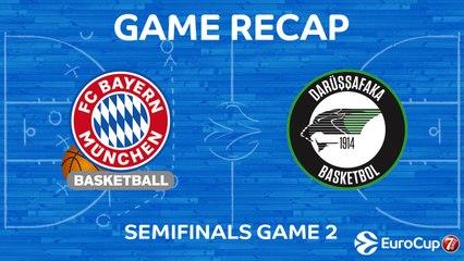 7DAYS EuroCup Highlights: Bayern 83-87 Darussafaka