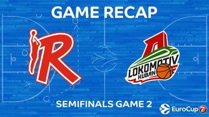 7DAYS EuroCup Highlights: Reggio Emilia 69-79 Lokomotiv
