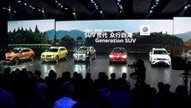 Weltpremiere des neuen VW Touareg in Peking