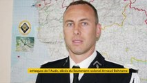 """Décès du lieutenant-colonel Arnaud Beltrame : le gendarme a succombé à ses blessures. """"Mort pour la patrie"""", il s'était offert en otage au terroriste dans le supermarché de Trèbes."""