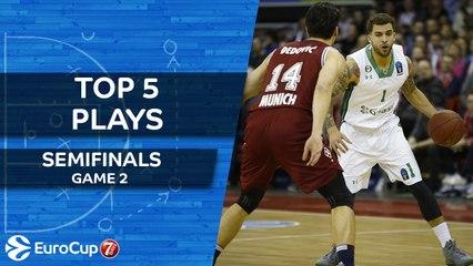 Top 5 Plays - 7DAYS EuroCup Semifinals Game 2
