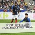 Revivez le match France-Colombie