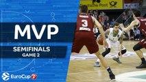 7DAYS EuroCup Semifinals Game 2 MVP: Scottie Wilbekin, Darussafaka Istanbul