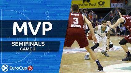 7DAYS EuroCup Semifinals, Game 2 MVP: Scottie Wilbekin, Darussafaka Istanbul