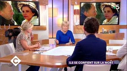 Catherine Ceylac évoque les confidences de Jean-Louis Trintignant sur la mort de sa fille Marie - Regardez