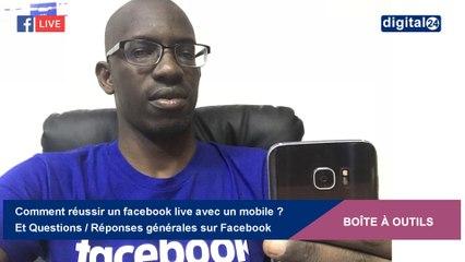 Comment réussir un facebook live avec un mobile ? Et d'autres Questions/Réponses sur Facebook