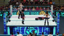Iconic Duo vs. DIYB/Axel gets retribution on Mark stronghold.