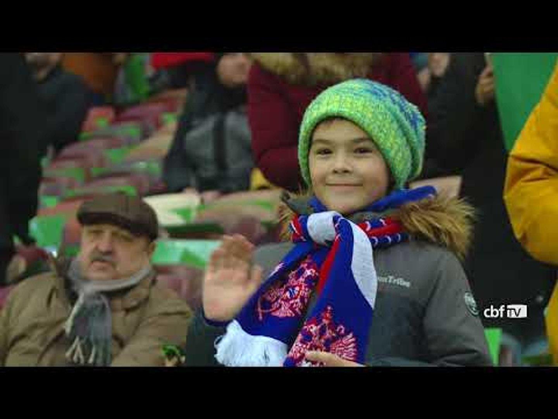 Bastidores de Seleção Brasileira 3x0 Rússia