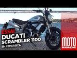 Ducati 1100 Scrambler Special - Essai Moto Magazine 2018